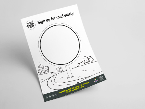 DIY Road Safety Posters