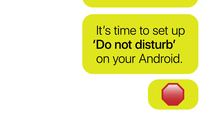 It's time to set up 'Do not disturb' on your Android